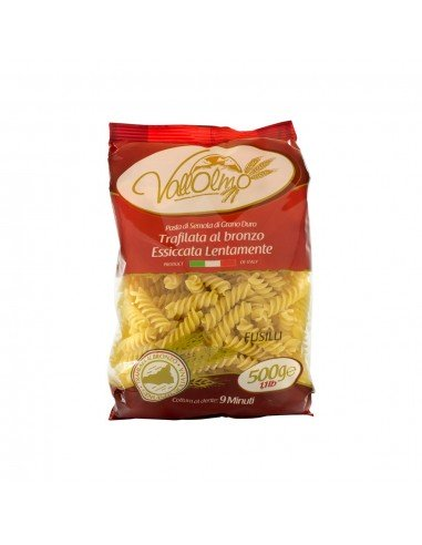 Fusilli Vallolmo grano siciliano 100%