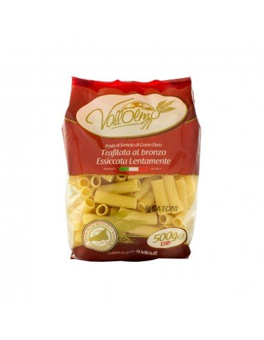 Rigatorni Vallolmo grano siciliano 100%