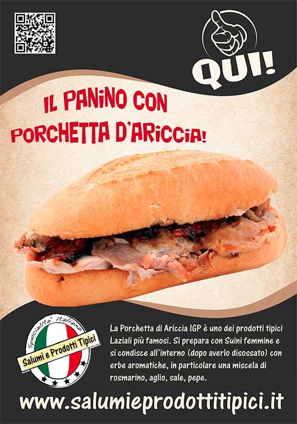 Il panino con Porchetta